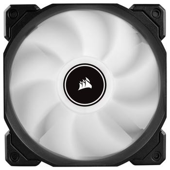 Product image of Corsair AF120 120mm Quiet Edition White LED Cooling Fan - Click for product page of Corsair AF120 120mm Quiet Edition White LED Cooling Fan