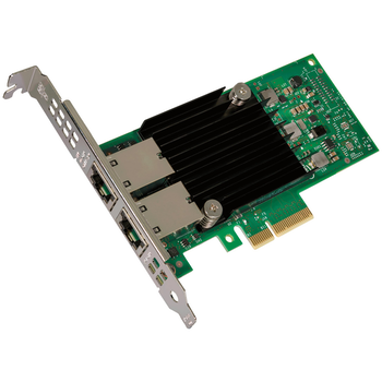 Product image of Intel PCIe 10 Gigabit Ethernet Dual Port Network Card - Click for product page of Intel PCIe 10 Gigabit Ethernet Dual Port Network Card