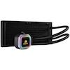 A product image of Corsair Hydro H100i RGB Platinum 240mm AIO Liquid CPU Cooler