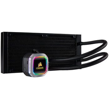 Product image of Corsair Hydro H100i RGB Platinum 240mm AIO Liquid CPU Cooler - Click for product page of Corsair Hydro H100i RGB Platinum 240mm AIO Liquid CPU Cooler