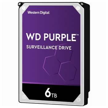 """Product image of WD Purple WD60PURZ 3.5"""" 6TB 64MB Surveillance HDD - Click for product page of WD Purple WD60PURZ 3.5"""" 6TB 64MB Surveillance HDD"""