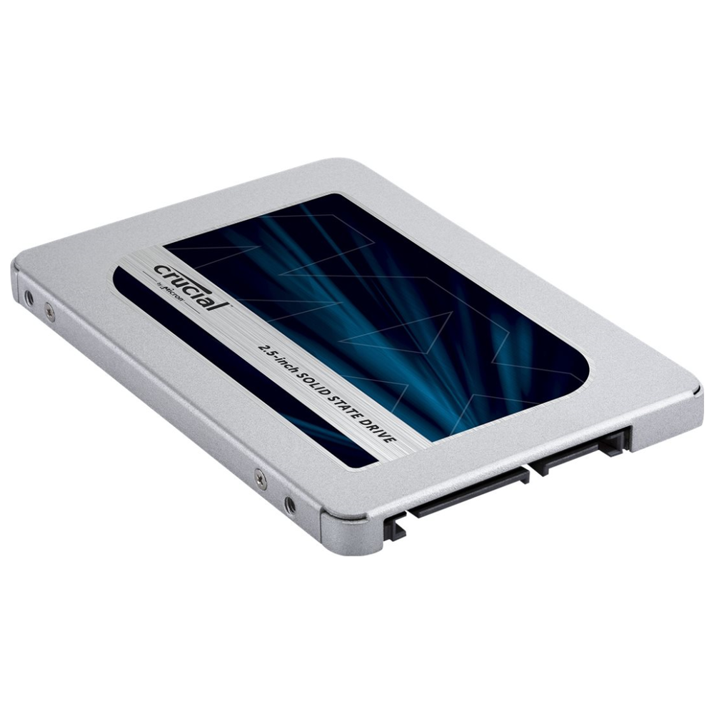 """A large main feature product image of Crucial MX500 250GB SATA 2.5"""" 7mm SSD"""
