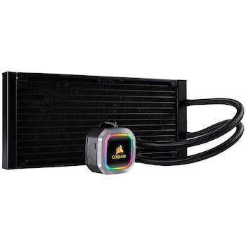 Product image of Corsair Hydro H115i RGB Platinum 280mm AIO Liquid CPU Cooler - Click for product page of Corsair Hydro H115i RGB Platinum 280mm AIO Liquid CPU Cooler