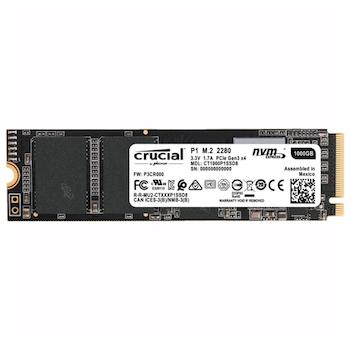 Crucial P1 1TB NVMe 3D NAND M.2 SSD