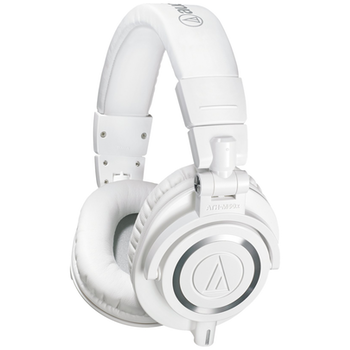 Product image of Audio Technica ATH-M50x White Studio Headphones - Click for product page of Audio Technica ATH-M50x White Studio Headphones