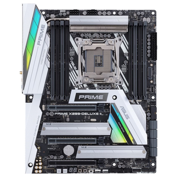 Product image of ASUS PRIME X299-DELUXE II LGA2066 ATX Desktop Motherboard - Click for product page of ASUS PRIME X299-DELUXE II LGA2066 ATX Desktop Motherboard