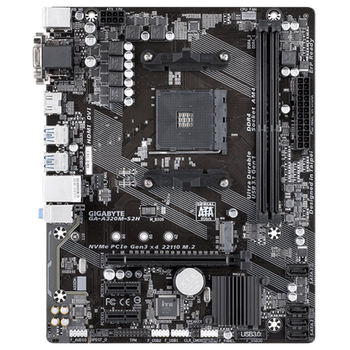 Product image of Gigabyte A320M-S2H AM4 mATX Desktop Motherboard - Click for product page of Gigabyte A320M-S2H AM4 mATX Desktop Motherboard