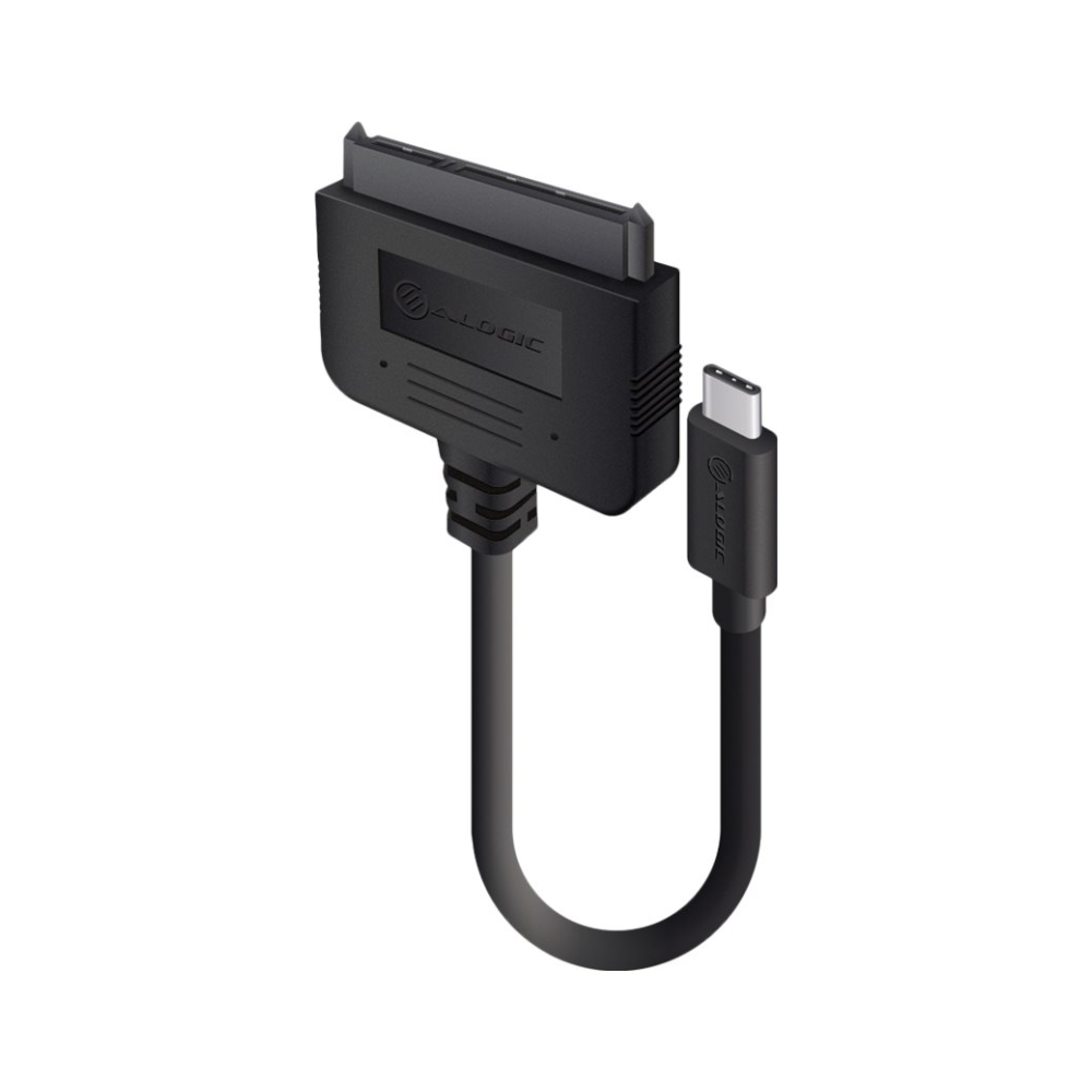 "A large main feature product image of ALOGIC 20cm USB 3.1 Type-C Adapter Cable for 2.5"" Sata Drive"