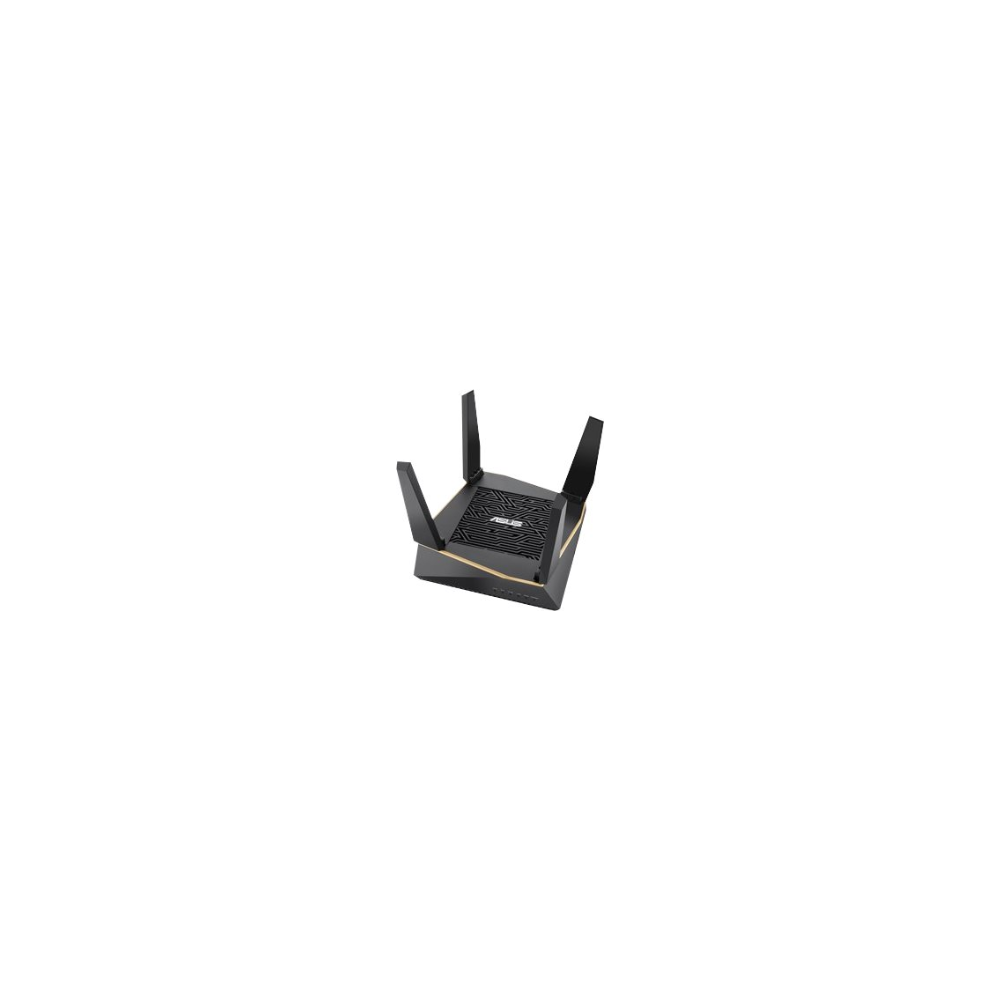 A large main feature product image of ASUS RT-AX92U 802.11ax Dual-Band AiMesh Wireless-AX6100 WiFi System