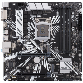 Product image of ASUS PRIME Z390M-PLUS LGA1151-CL mATX Desktop Motherboard - Click for product page of ASUS PRIME Z390M-PLUS LGA1151-CL mATX Desktop Motherboard