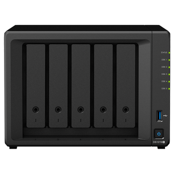Product image of Synology DS1019+ Quad Core 1.4Ghz 5 Bay NAS Enclosure - Click for product page of Synology DS1019+ Quad Core 1.4Ghz 5 Bay NAS Enclosure
