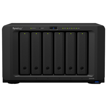 Product image of Synology DiskStation DS1618+ Quad Core 2.1GHz 6 Bay NAS Enclosure - Click for product page of Synology DiskStation DS1618+ Quad Core 2.1GHz 6 Bay NAS Enclosure