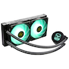 A product image of ID-COOLING AuraFlow X TUF Gaming Alliance 240 RGB AIO CPU Liquid Cooler