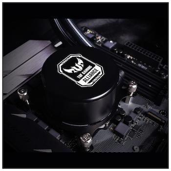 ID-COOLING AuraFlow X TUF Gaming Alliance 240 RGB AIO CPU Liquid Cooler