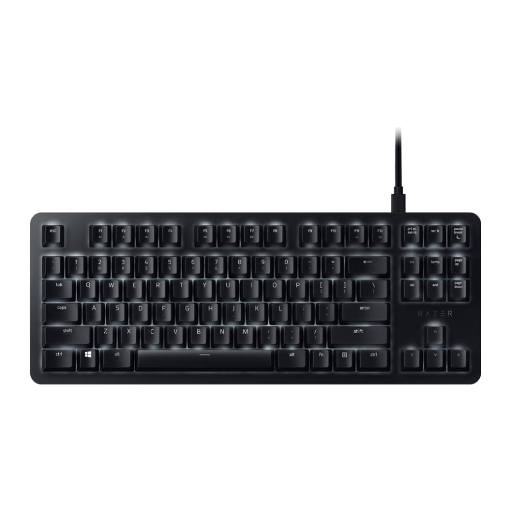 A large main feature product image of Razer Blackwidow Lite Mechanical Gaming Keyboard (Orange Switch)
