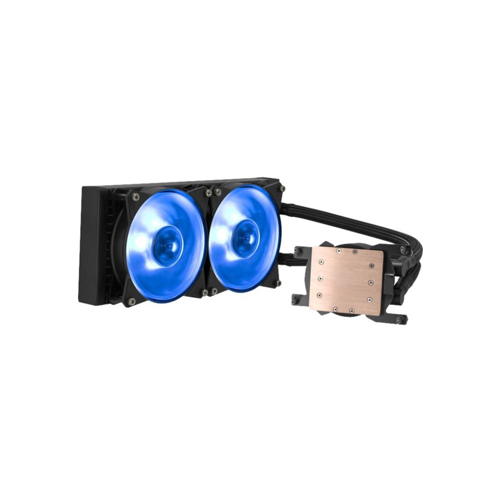 A large main feature product image of Cooler Master MasterLiquid ML240 RGB TR4 Edition AIO Liquid CPU Cooler