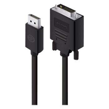 Product image of ALOGIC Elements DisplayPort to DVI 1m Cable - Click for product page of ALOGIC Elements DisplayPort to DVI 1m Cable