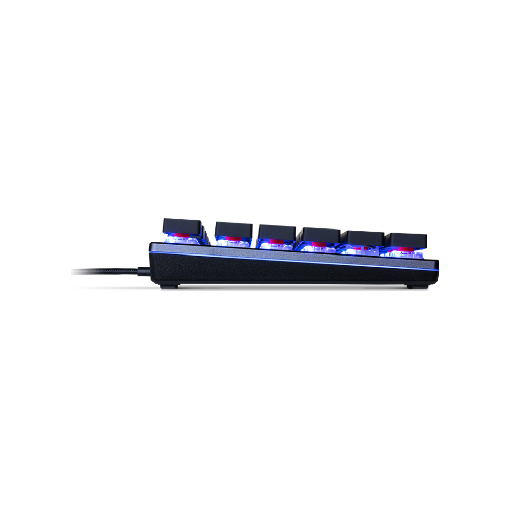 A large main feature product image of Cooler Master MasterKeys SK630 RGB Mechanical Keyboard (MX Low Profile Red)