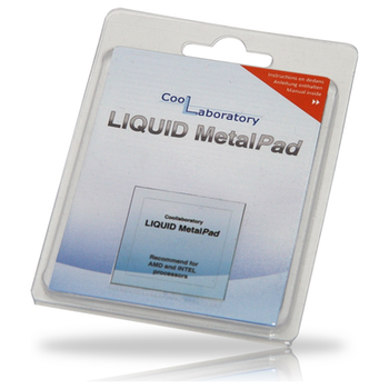 Product image of Coollaboratory Liquid Metal Pad  - Click for product page of Coollaboratory Liquid Metal Pad