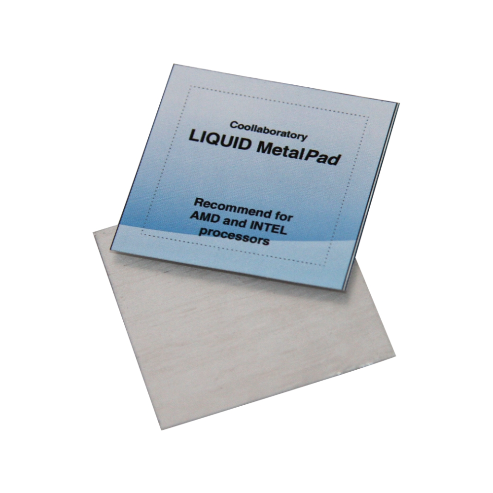 A large main feature product image of Coollaboratory Liquid MetalPad for 3 CPU 3 GPU 1 Cleaner