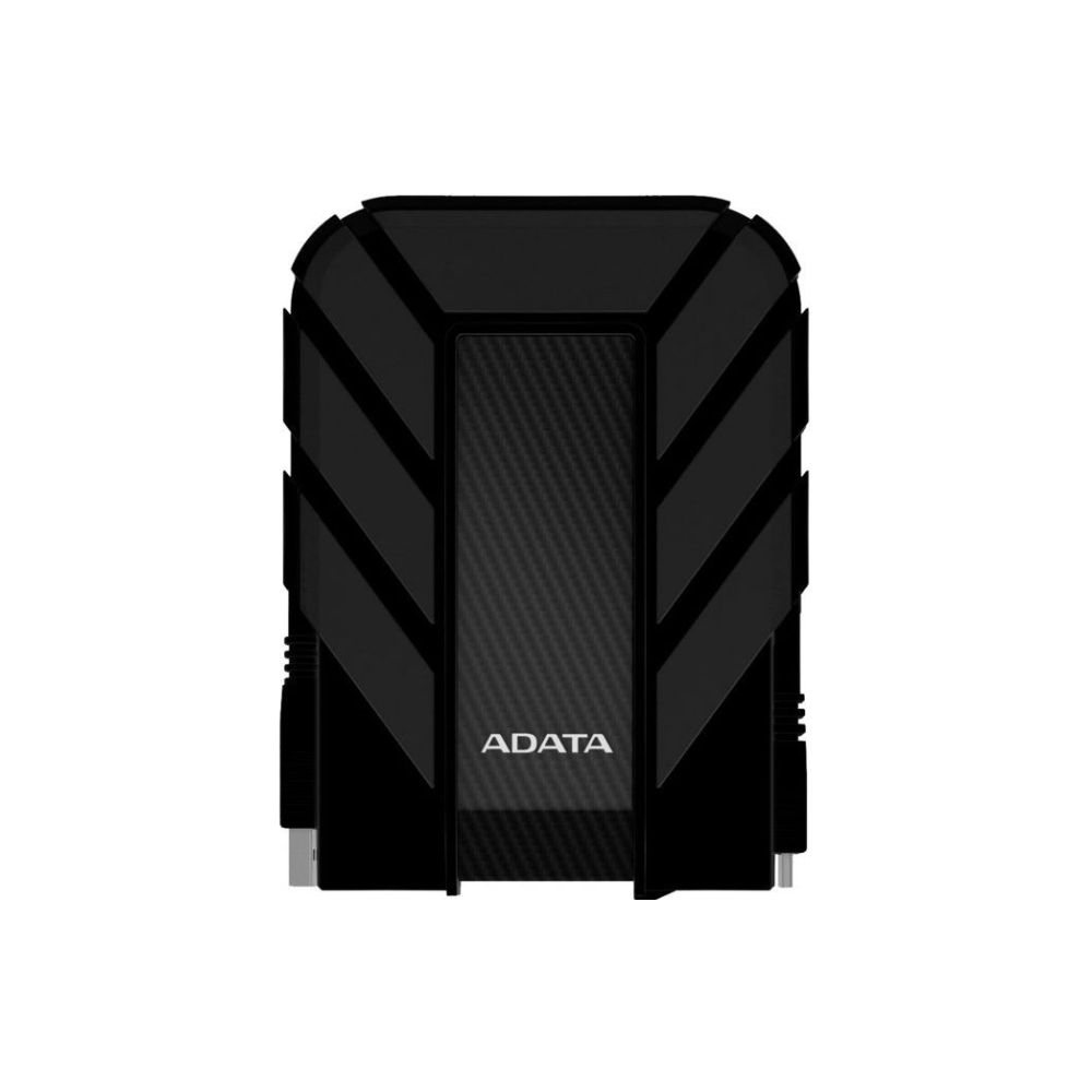 A large main feature product image of ADATA Armoured HD710 Pro 2TB USB3.0 Black Portable HDD