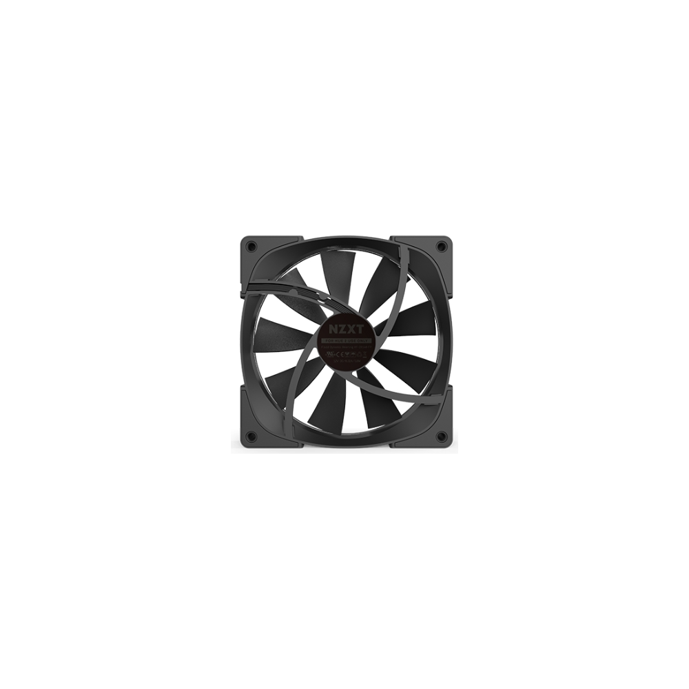 A large main feature product image of NZXT Aer2 RGB 120mm Case Fan