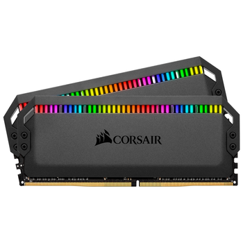 Product image of Corsair 16GB Kit (2x8GB) DDR4 Dominator Platinum RGB C15 3000Mhz - Click for product page of Corsair 16GB Kit (2x8GB) DDR4 Dominator Platinum RGB C15 3000Mhz
