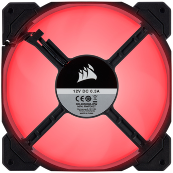 Product image of Corsair AF140 140mm Quiet Edition Red LED Cooling Fan - Click for product page of Corsair AF140 140mm Quiet Edition Red LED Cooling Fan
