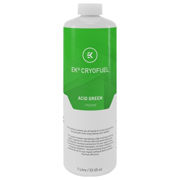 Product image of EK CryoFuel Acid Green 1L Premix Coolant - Click for product page of EK CryoFuel Acid Green 1L Premix Coolant