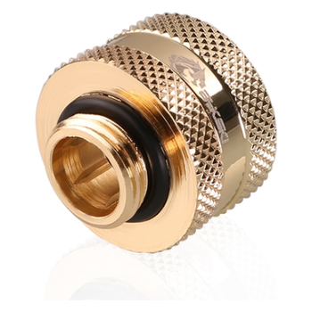 Product image of Bykski G1/4 16mm Hard Tube Compression Fitting - Gold - Click for product page of Bykski G1/4 16mm Hard Tube Compression Fitting - Gold