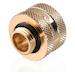 Bykski G1/4 16mm Hard Tube Compression Fitting - Gold