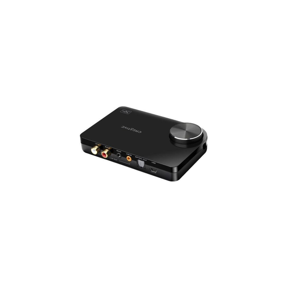 A large main feature product image of Creative Sound Blaster X-Fi Surround 5.1 Pro v3 USB2.0 Sound Card