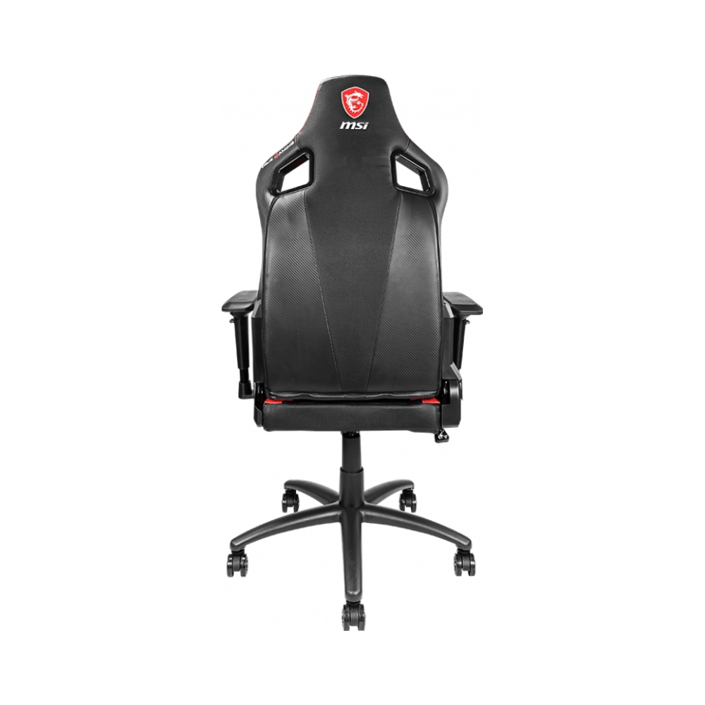 A large main feature product image of MSI MAG CH110 Black/Red Gaming Chair