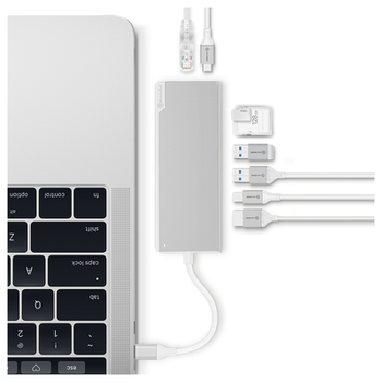 Product image of ALOGIC Ultra Plus USB-C Universal Dock w/ Power Delivery - Silver - Click for product page of ALOGIC Ultra Plus USB-C Universal Dock w/ Power Delivery - Silver
