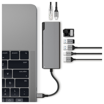 Product image of ALOGIC Ultra Plus USB-C Universal Dock w/ Power Delivery - Space Grey - Click for product page of ALOGIC Ultra Plus USB-C Universal Dock w/ Power Delivery - Space Grey