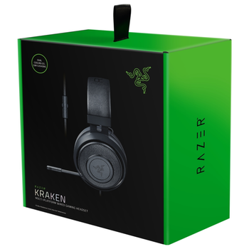 Product image of Razer Kraken Wired Black Gaming Headset - Click for product page of Razer Kraken Wired Black Gaming Headset