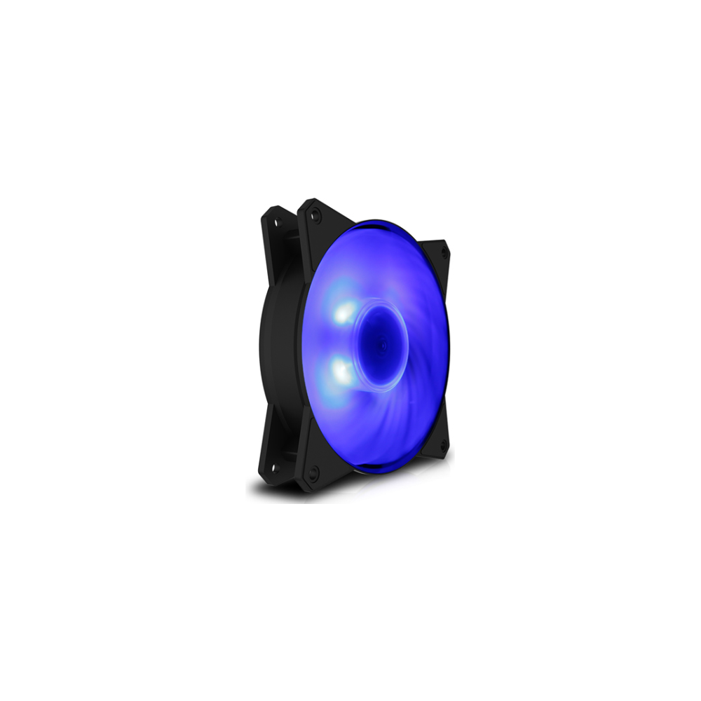 A large main feature product image of Cooler Master MasterFan MF120R 120mm RGB Fan
