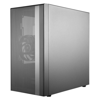 Product image of Cooler Master MasterBox NR400 mATX Case w/Tempered Glass Side Panel - Click for product page of Cooler Master MasterBox NR400 mATX Case w/Tempered Glass Side Panel