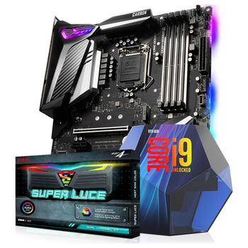 Product image of Intel 9th Gen Z390 Super Enthusiast Bundle - Click for product page of Intel 9th Gen Z390 Super Enthusiast Bundle