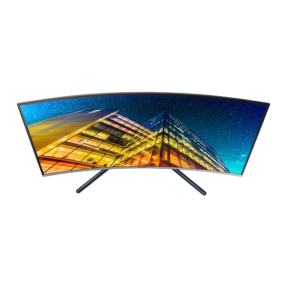 """A large main feature product image of Samsung UR59C 32"""" 4K UHD Curved 4MS VA LED Monitor"""
