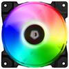 A product image of ID-COOLING DF Series 120mm Addressable RGB LED Fan