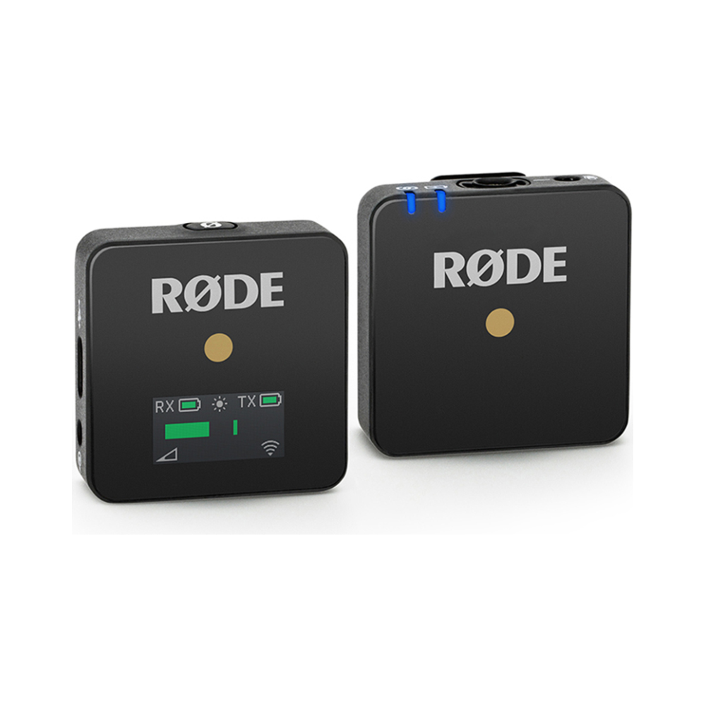 A large main feature product image of RODE Microphones Wireless Go Compact Wireless Microphone System