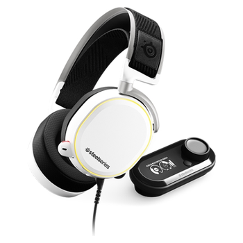 Product image of Steelseries Arctis Pro & GameDac Bundle - White - Click for product page of Steelseries Arctis Pro & GameDac Bundle - White