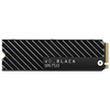 A product image of WD Black SN750 1TB 3D NAND NVMe M.2 SSD w/Heatsink