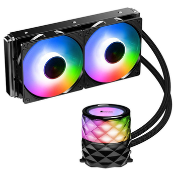 Product image of Jonsbo TW3 240mm RGB LED AIO CPU Liquid Cooler - Click for product page of Jonsbo TW3 240mm RGB LED AIO CPU Liquid Cooler