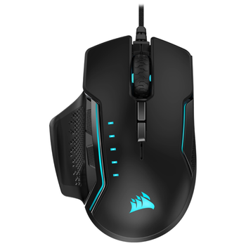 Product image of Corsair GLAIVE RGB PRO Black Gaming Mouse - Click for product page of Corsair GLAIVE RGB PRO Black Gaming Mouse