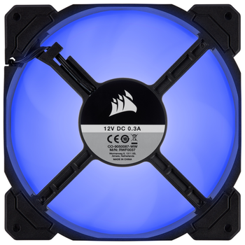 Product image of Corsair AF140 140mm Quiet Edition Blue LED Cooling Fan - Click for product page of Corsair AF140 140mm Quiet Edition Blue LED Cooling Fan