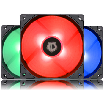Product image of ID-COOLING XF Series 120mm RGB LED Fan 3 Pack - Click for product page of ID-COOLING XF Series 120mm RGB LED Fan 3 Pack