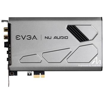 Product image of eVGA Nu Audio PCIe Sound Card - Click for product page of eVGA Nu Audio PCIe Sound Card