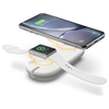 A product image of ALOGIC Wireless Duet Charging Station - White